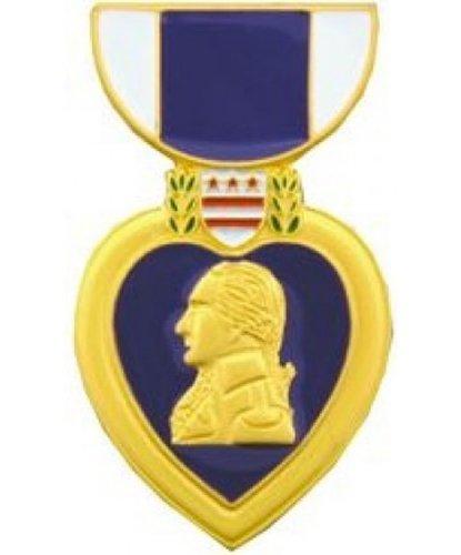 Purple Heart Medal Lapel or Hat Pin
