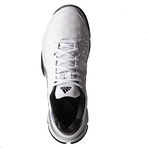 adidas Barricade 2015Clay Scarpe da Tennis da Uomo, Bianco White