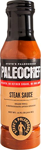 Steve's PaleoGoods, PaleoChef Steak Sauce, 12 oz (Sauce Steak Pork)