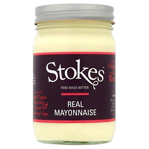 Stokes Real Mayonnaise with Extra Virgin Olive Oil (345g) by Stokes