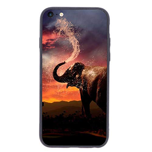 Privacy Paddle - The Elephant Paddle Crystal Cellphone Back Cover Shockproof Shell - Protective Anti-Scratch 4.7