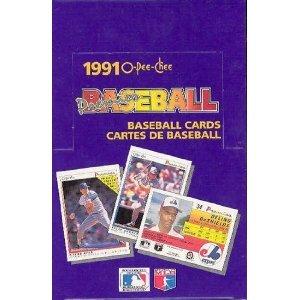 1991 O-pee-chee Premier Baseball Un-opened Box 36 Packs
