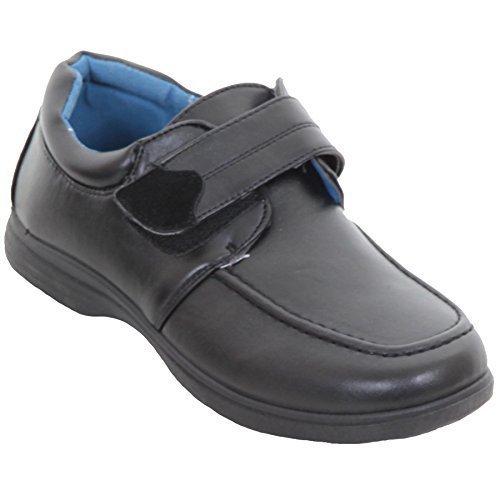 ZAFIRO boutique infantil vuelta al Cole cuero sintético ELEGANTE Mocasín Niños Cómodo Mocasines Zapato plano: Amazon.es: Zapatos y complementos