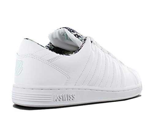 Kswiss Lozan Iii Tt Liberty -winter 2017- Wht / Glcr / Lbrty White (bianco-blu)