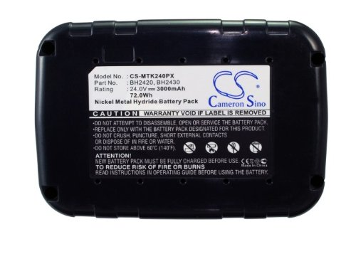 Cameron Sino 3000 mAh batteria di ricambio per Makita BTW200SAE