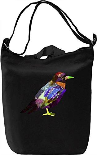 Colourful Bird Borsa Giornaliera Canvas Canvas Day Bag| 100% Premium Cotton Canvas| DTG Printing|