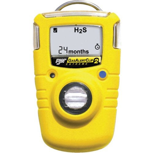 Gas Alert Clip Extreme 2 Year Portable Gas Monitor - 2 Year For Oxygen - B86GA24XT-X