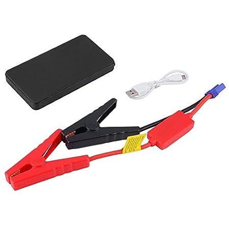 Ballylelly 12V 20000mAh Mini Caricabatterie Portatile per avviamento di Emergenza per avviamento Multifunzionale Portatile
