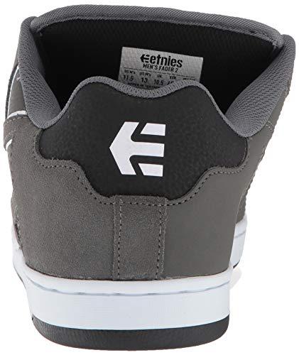 black 2Chaussures Grey Fader Skateboard Etnies Homme white Dark De OPXikTwuZ