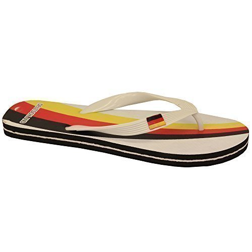 Flip beach Thong Slippers Print Sandals Belgium White Mens Italia summer Tcg1302 Flops Flag d6xpOdwq