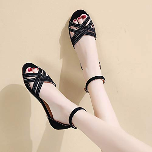 Donna sandali sandali Sportivi Sandalo Di Donna infradito sandali Donna Da Infradito Estivi Sandali Beige Donna Pelle Qualità Scarpe wFxS6ddnvq