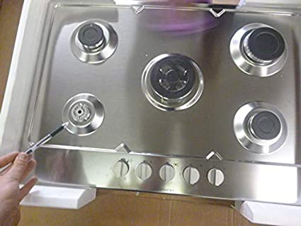 5 fuegos de gas, 1 Wok central 3,3 kW - All 1 mano ...