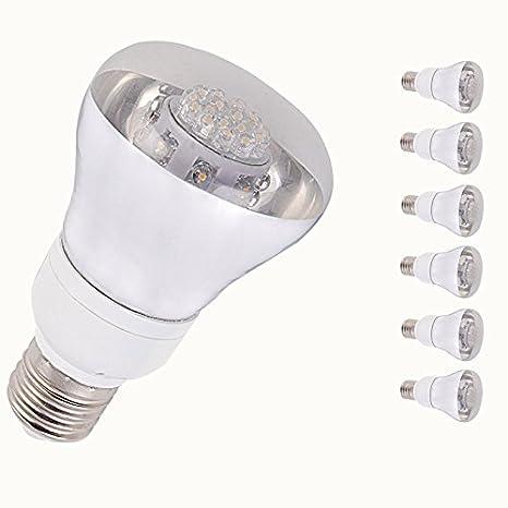 Lumenbest luz interior LED, R63 LED bombilla 80LED, 4 W (30 W equivalente