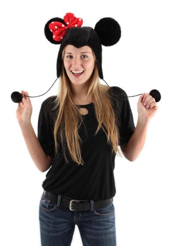 Disney Minnie Mouse Adult Hoodie Hat by elope