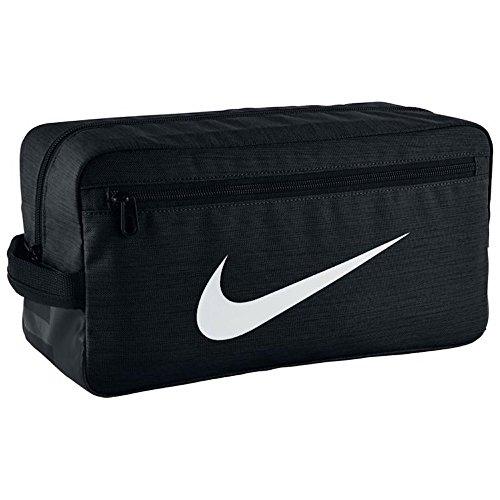 Nike Brazilia Shoe Bag In Black