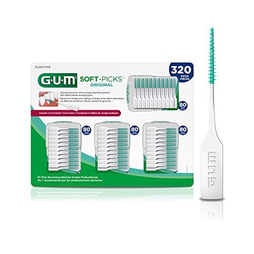 GUM – 6324A Soft-Picks Original Dental Picks, 320 Count