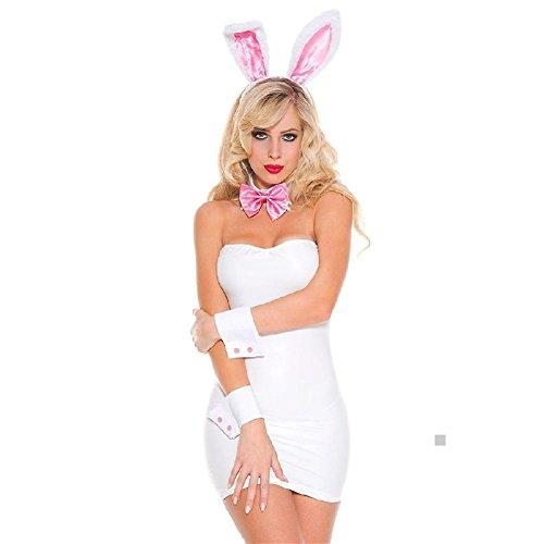 Tuxedo Playboy Bunny Costumes (Sexy Bunny Costume Adult Tuxedo Rabbit Playboy Halloween Fancy Dress)