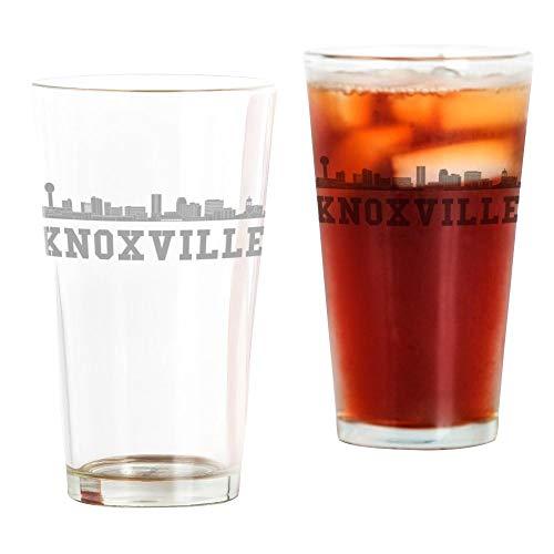 CafePress Knoxville TN Skyline Pint Glass, 16 oz. Drinking ()