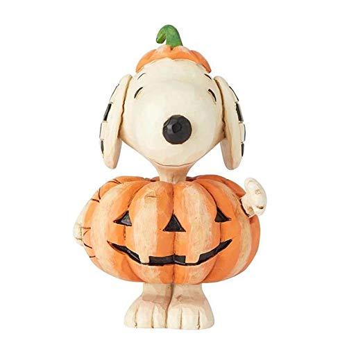 Snoopy Great Pumpkin (Enesco Peanuts by Jim Shore Snoopy Pumpkin Mini)