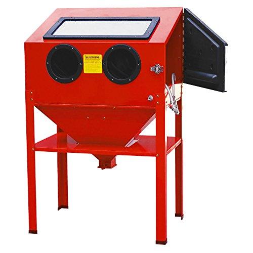 ESKALEX>>Abrasive Air Sand Blasting Blaster Blast Cabinet Glass Bead Media and Large 25