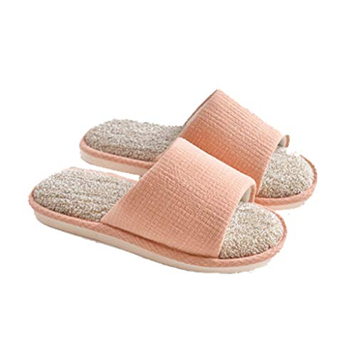 per pantofole Rosa 6UK DSISI calde estive dimensioni Colore Rosa 40EU Pantofole donna qWOnFEZ