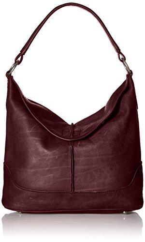 FRYE Cara Hobo Bag ,Burgundy, One Size by FRYE