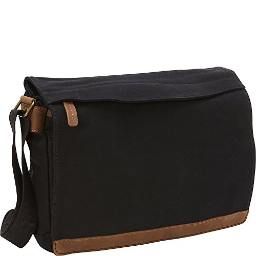 vagabond-traveler-casual-style-canvas-messenger-bag-black