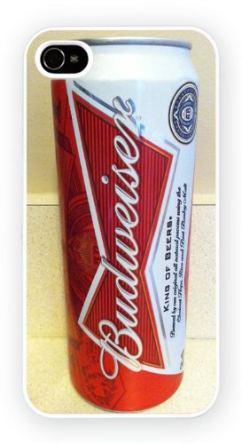 Budweiser The American Lager Beer Art Design, iPhone 6, Etui de téléphone mobile - encre brillant impression
