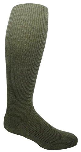 2PR Mens Merino Wool OTC Knee-high Socks - 17