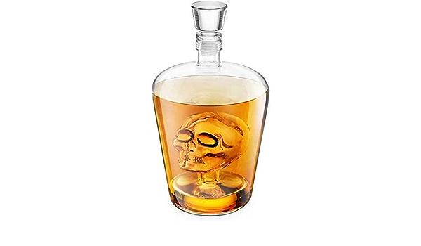 FZC-YM Whisky, Brainfreeze Skull, Ideal para Vodka, Whisky ...