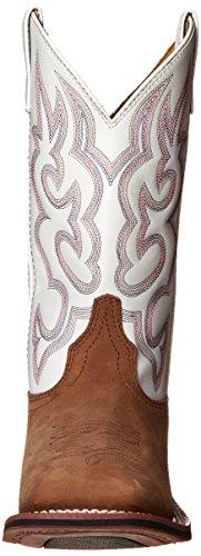 White Laredo Taupe Boot Women's Mesquite Western Ix7U7Xrq