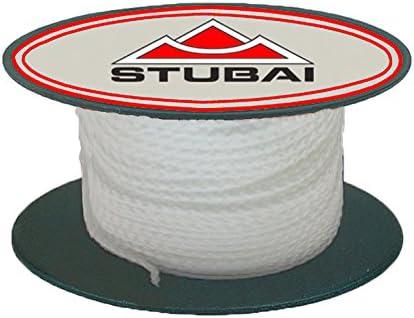 longueur Stubai 443103 Cordeau de ma/çons blanc 30 m 30m x 1 mm
