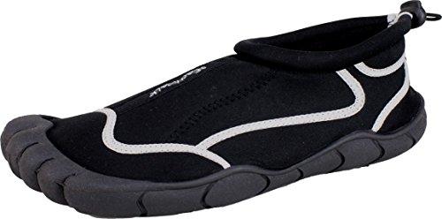 BOCKSTIEGEL® BORKUM Zapatos Aguamarina (41-46 Señores 2 Diseños Neopreno) schwarz/multi