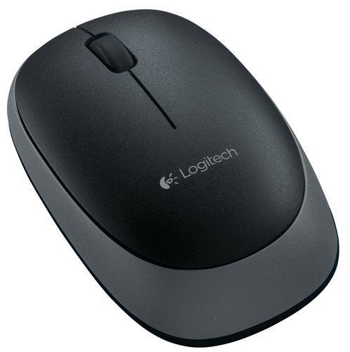 Logitech M165 Wireless Mouse  Black  Mice