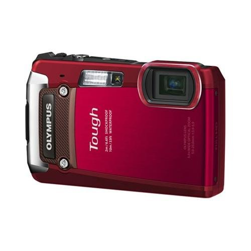 Cheap Olympus TG-820 12MP Shock/Water/Freeze-Proof Camera-Red (Old Model)