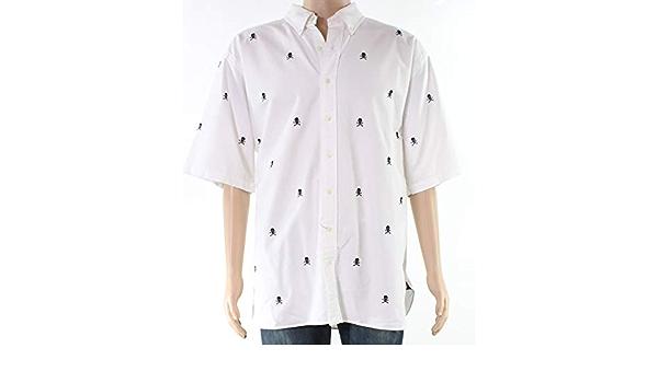 Ralph Lauren - Camisa para hombre, diseño de huesos de ...