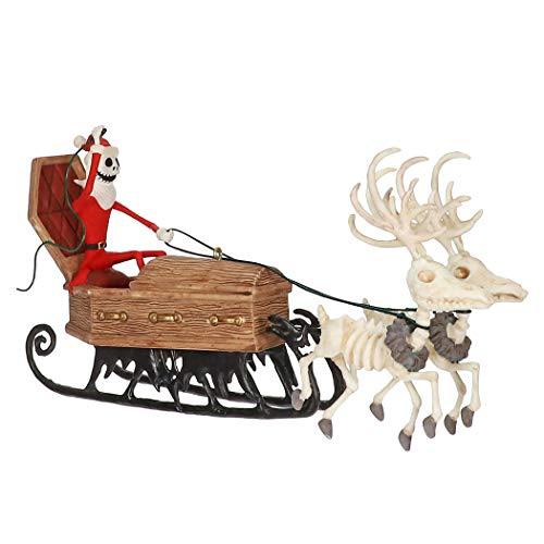 Hallmark Keepsake Ornament 2019 Year Dated Tim Burton's The Nightmare Before Christmas Here Comes Sandy Claws,