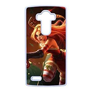LG G4 case , League of legends-Katarina Cell phone case White for LG G4 - LLKK0792335