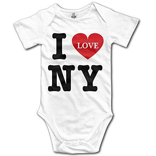 Cotton Levante (Infant I Love NY New York Short-Sleeve Bodysuits)