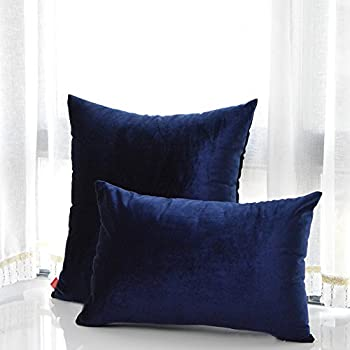 Amazon Com Navy Blue Pillow Covers Navy Blue Pillow In