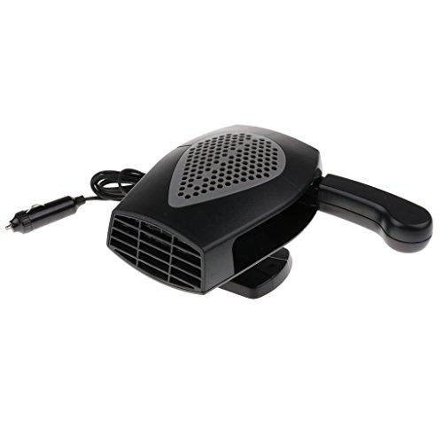 Jili Online Universal Car Truck Auto Heater Hot Cool Fan Windscreen Window Demister 24V - Black by Jili Online (Image #8)