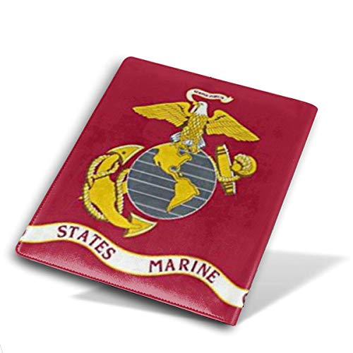 JSYAGSJ US Marine Corps Stretchable Book Cover,Fits Most Hardcover Textbooks Up to 9 X 11,are A Needed School Supply for Students.