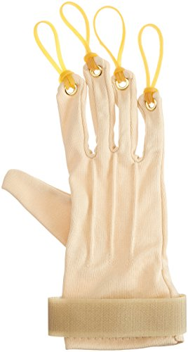 Sammons Preston Traction Exercise Glove, Hand and Finger Strengthening Glove for Joint Flexion, Hand Exerciser for Therapy, Recovery, and Rehabilitation, Right, Small/Medium by Sammons Preston