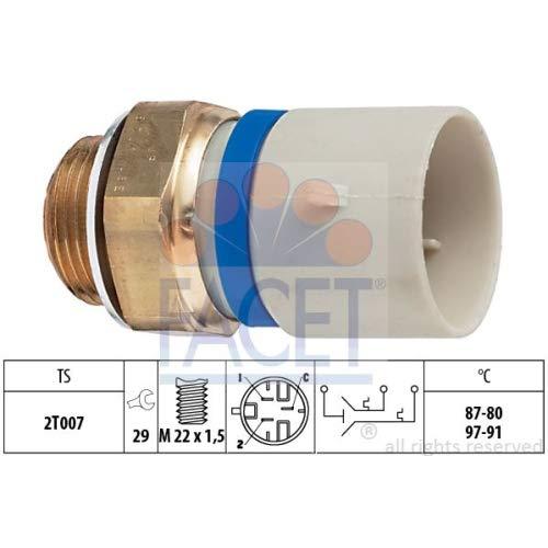 Facet 7.5701 Temperature Switch, radiator fan: