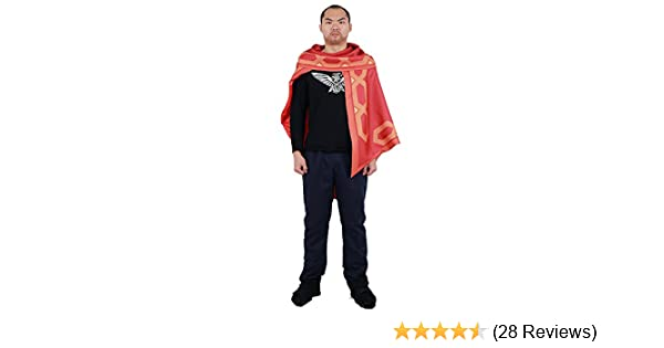 Over OW Mccree Cosplay Cape Cloak Only One Size red