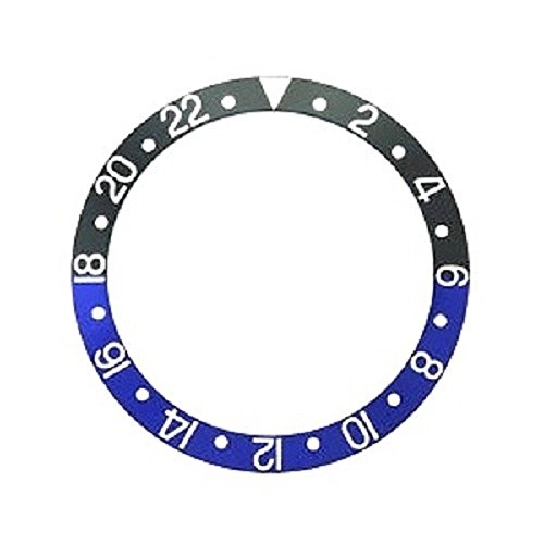 Bezel Insert To Fit Rolex Men's GMT - Blue / Black Ceramic