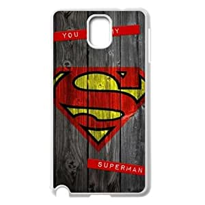 YUAHS(TM) Cover Case for Samsung Galaxy Note 3 N9000 with Superman Man Of Steel Logo YAS950262
