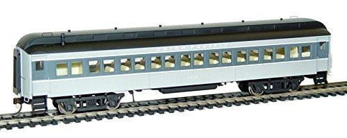 Rivarossi HR4196 Ho Scale Pullman 60' Baggage #1702 Union Pacific Train Ho Pullman 60 Foot Baggage, Gray