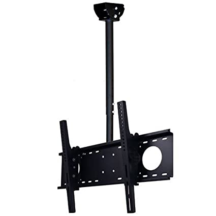 flat ceiling allows be tv trak mounts mount to room and wherever from move kit for pin screens viewed