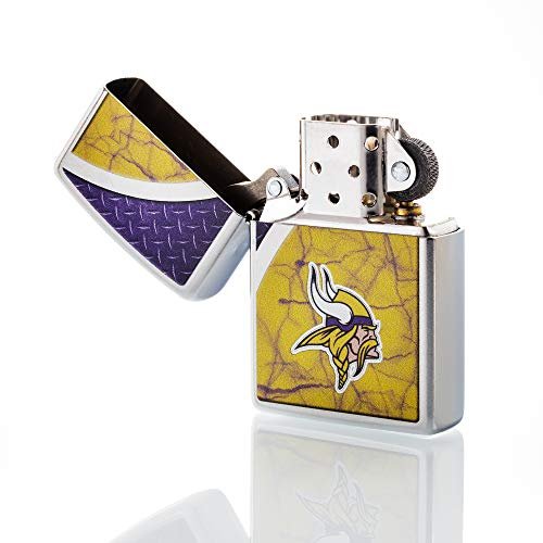 Zippo NFL Minnesota Vikings Refillable Lighter, Yellow, One Size